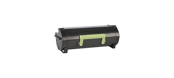 Cartouche laser Lexmark 60F1H00 (601H) haute capacité, remise à neuf, noir