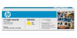 Cartouche laser HP CB542A (125A) originale, jaune