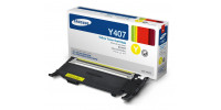 Cartouche laser Samsung CLT Y407S originale jaune